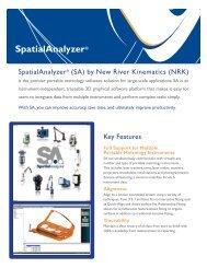 SA Fact Sheet - New River Kinematics
