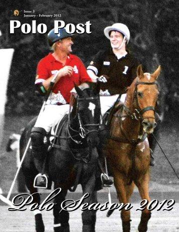 Issue 3 January - February 2012 - Manila Polo Club