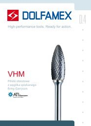 D.4 Pilniki obrotowe VHM - Dolfamex