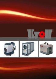 Mobile Warmlufterzeuger