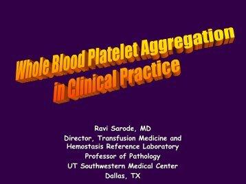 Hyperactive platelets - NASCOLA
