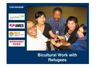 Bicultural Work with Refugees - PowerPoint ... - Navitas English