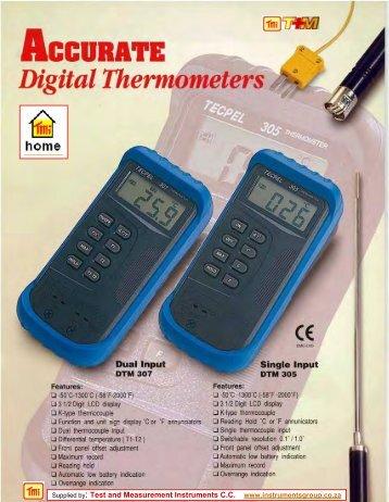 DTM-305 - Test and Measurement Instruments CC