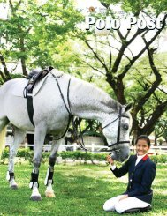 Issue 5 May - June 2012 - Manila Polo Club