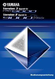 Bessere Darstellung des Effekttyps EFFECT TYPE - Yamaha