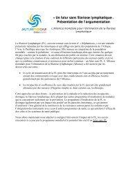 Un futur sans filariose lymphatique - Global Alliance to Eliminate ...