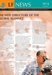 LF NEWS - Global Alliance to Eliminate Lymphatic Filariasis