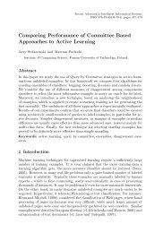 Comparing Performance of Committee Based Approaches to Active ...