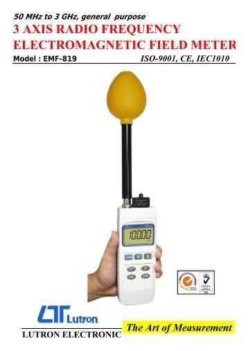 EMF-819 Emf Tester - Test and Measurement Instruments CC