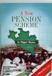 Pension Guidelines - Niger State