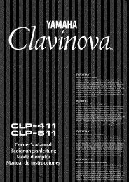CLP-51 1 - Yamaha