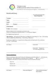 Beitrittserklärung (56 KB) - Rosenfeld