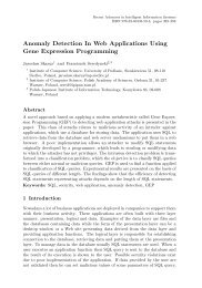 Anomaly Detection In Web Applications Using Gene Expression ...