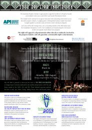2013 api eipa invitation - API Victoria - The Australian Property Institute