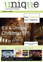 Unique Magazine December 2014