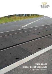 High Speed Rubber Level Crossings - Trelleborg.com.au