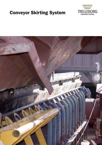 Conveyor Skirting System - Trelleborg.com.au