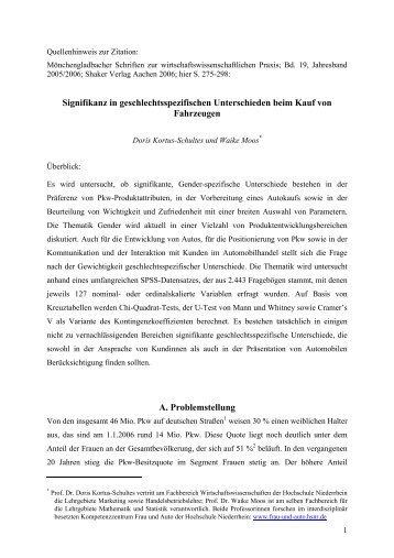 Download - Kompetenzzentrum Frau und Auto - Hochschule ...