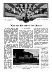 British Advent Messenger - Adventisthistory.org.uk