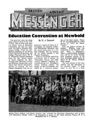 Education Convention at Newbold