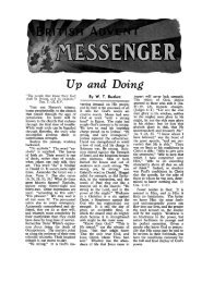 Up and Doing - Seventh-day Adventist - BUC Historical Archive