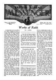 Works of Faith - Adventisthistory.org.uk