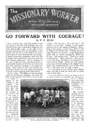 By W. E, READ - Adventisthistory.org.uk
