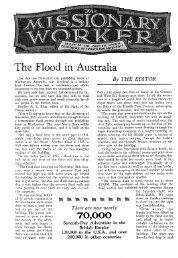 The Flood in Australia - Seventh-day Adventist - BUC Historical ...