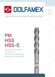 PM HSS HSS–E - Dolfamex