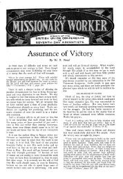 Assurance of ViCtory - Adventisthistory.org.uk