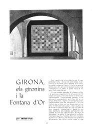 QIRONA, els gironins i la Fontana á'Or - RACO