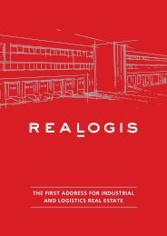 the first address for industrial and logistics real estate - Realogis