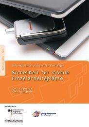 Sicherheit mobiler Arbeitsplätze
