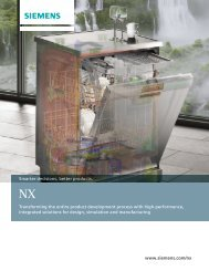 NX Overview Brochure - cards PLM Solutions