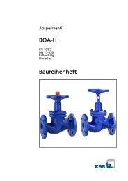 BOA-H Baureihenheft