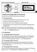 Bedienungsanleitung (deutsch) - Seite 5
