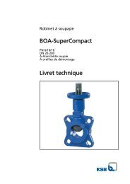 BOA-SuperCompact Livret technique