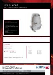 CSC Rotary Switch - A-Belco
