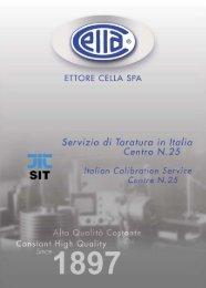 Scarica la brochure del servizio ACCREDIA LAT - Ettore Cella SPA