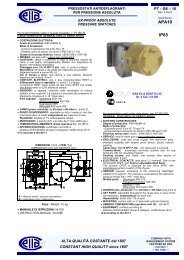 APA10 IP65 - Ettore Cella SPA