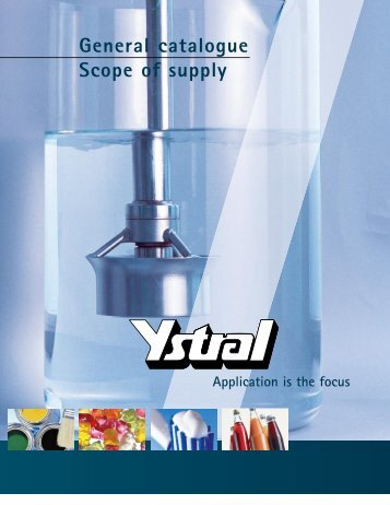 Ystral General Catalogue - Powder Technologies Inc.