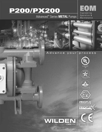 P200/PX200 - Process Pumps