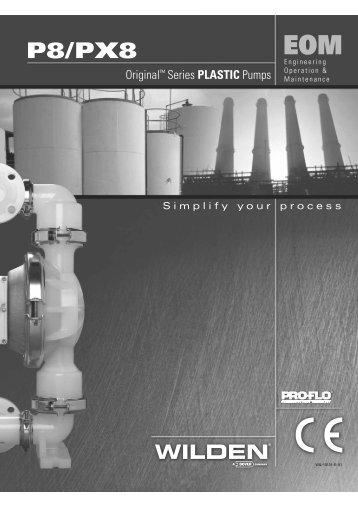 P8/PX8 - Process Pumps