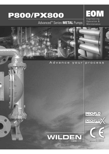 P800/PX800 - Process Pumps