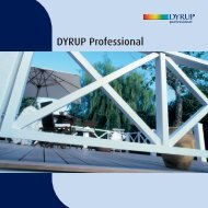DYRUP Professional - ProductInformation.dk