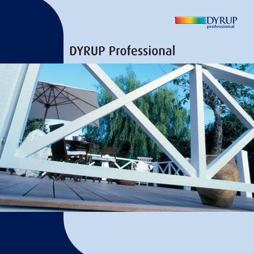 DYRUP Professional - ProductInformation.dk