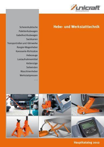 Hauptkatalog 2012 Hebe- und Werkstatttechnik - Automatic Production