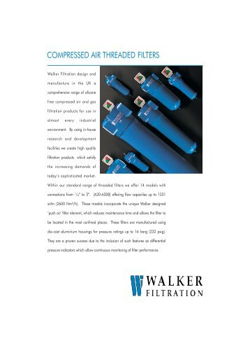 Compressed Air Filters - Process Pumps