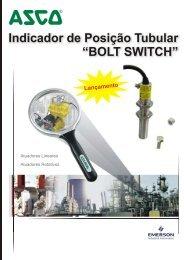 """Indicador de Posição Tubular """"BOLT SWITCH"""" - Coppi"""
