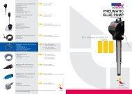 Glue pump brochure - Process Pumps